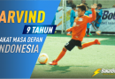 Video Arvind 9 Tahun BAKATBOLA OF THE MONTH